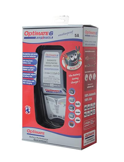 Optimate 6 TM180SAE зарядное устройство аккумуляторных батарей