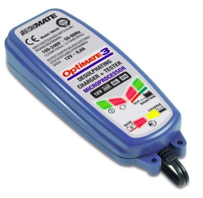 TM430 optimate 3 зарядное устройство аккумуляторных батарей