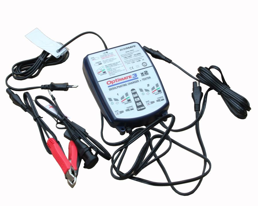 TM450 optimate 3 зарядное устройство аккумуляторных батарей
