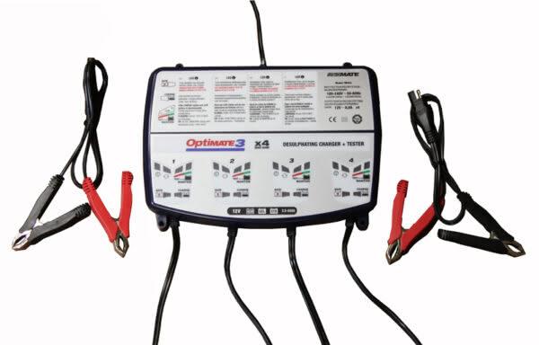 TM454 optimate 3 зарядное устройство аккумуляторных батарей