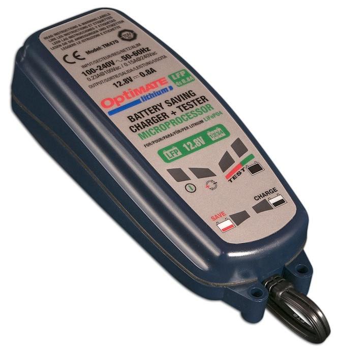 TM470 Зарядное устройство Optimate Lithium 08