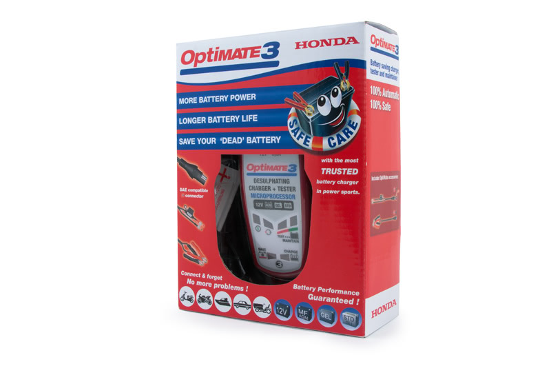 optimate3 honda зарядное устройство