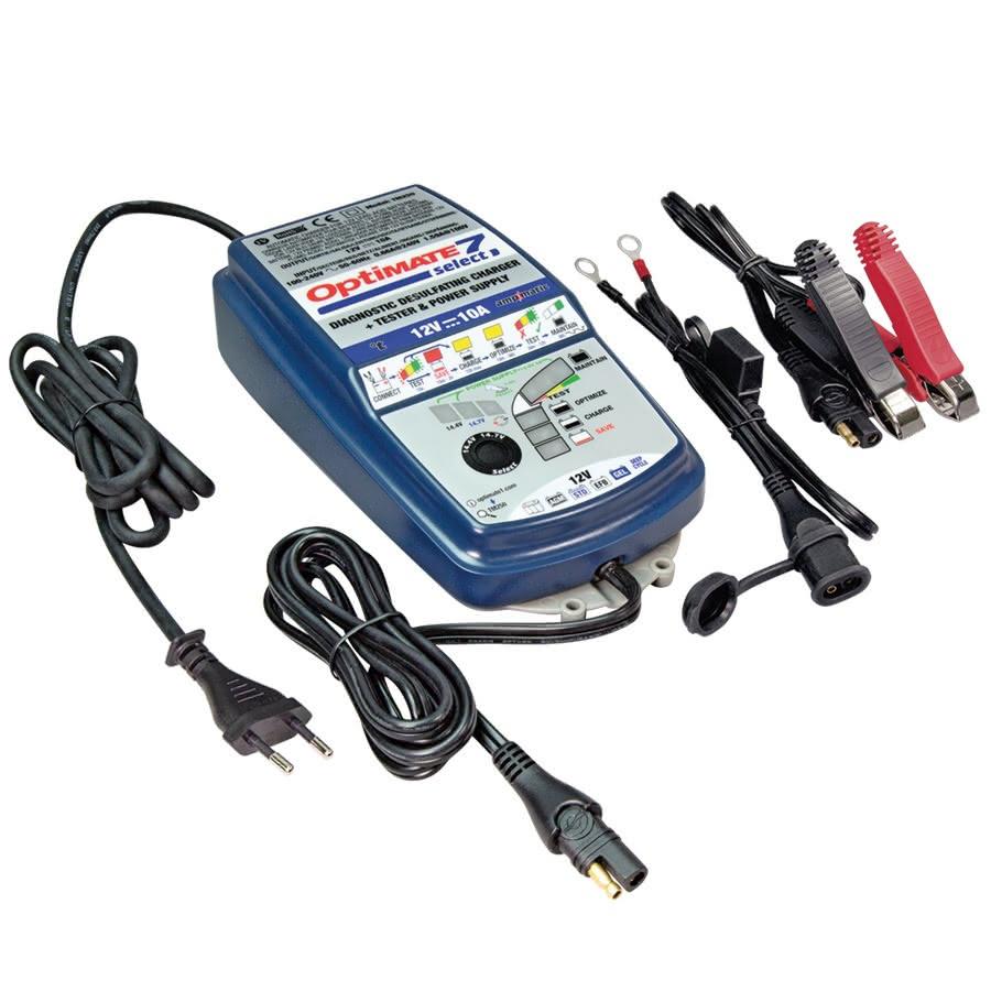TM250 Зарядное устройство OptiMate 7 SELECT (1x10А, 12V)