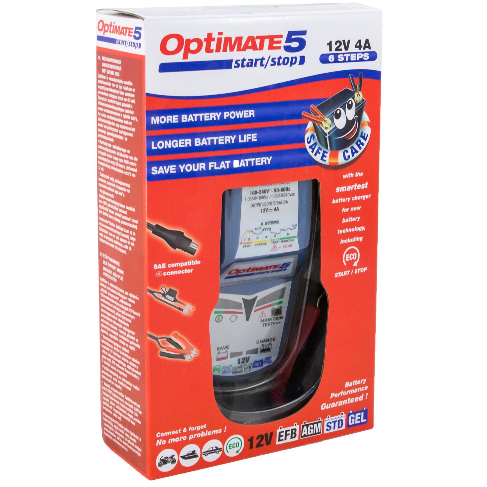 TM220 Optimate 5 Start-Stop Зарядное устройство