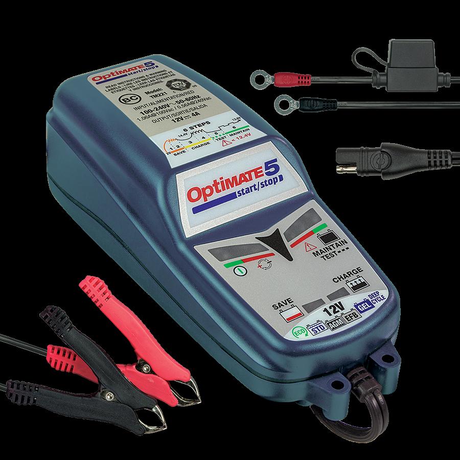 зарядное устройство 4А для автомобиля optimate