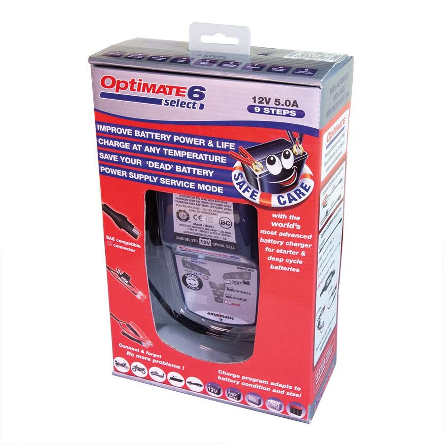 TM190 optimate 6 Select Зарядное устройство