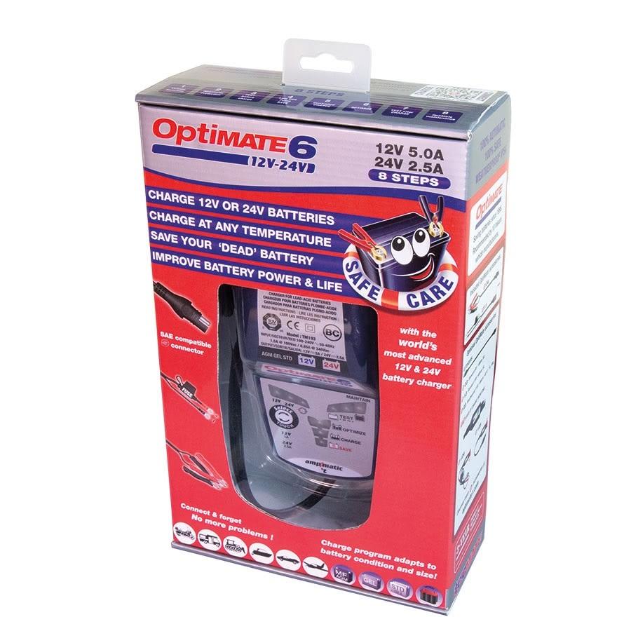 TM194 optimate 6 12/24 Зарядное устройство