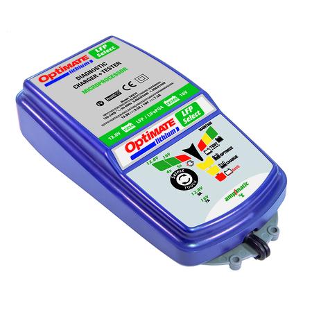 TM270 optimate lithium 9,5A зарядное устройство литий-ионных аккумуляторных батарей