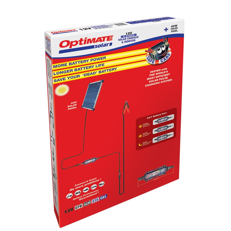 Солнечное зарядное устройство аккумулятора Optimate 40W