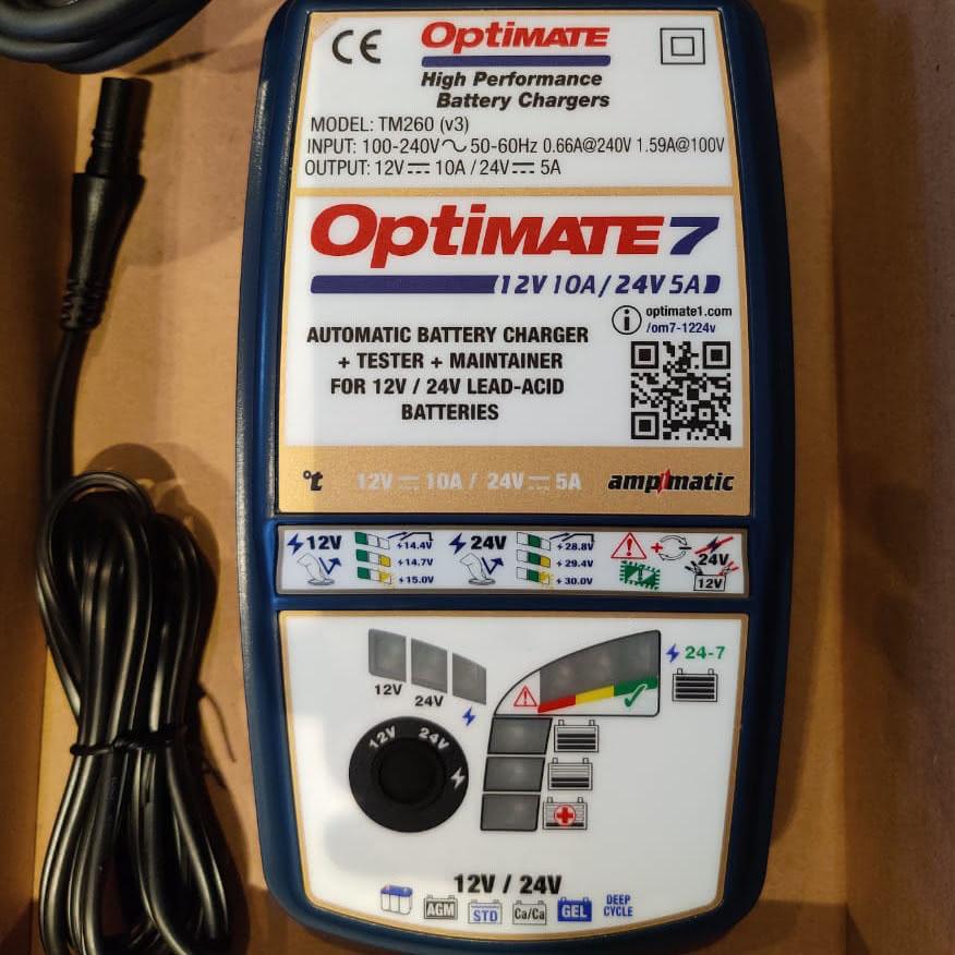Optimate 7 TM260 v3