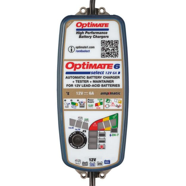 Зарядное устройство OptiMate 6 Select Gold